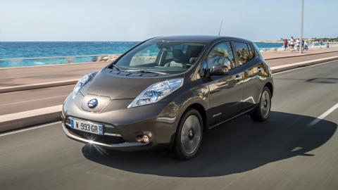 Nissan Leaf 2015: y dura, y dura...