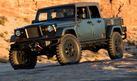 Jeep Wrangler 'pick-up': confirmada su llegada y ¿nombre?