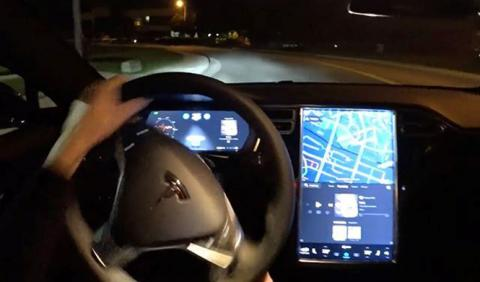 El sistema Autopilot 2.0 casi estrella este Tesla Model S