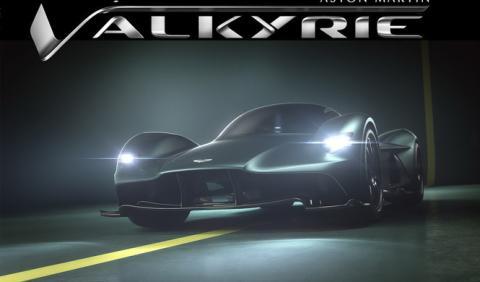 Aston Martin Valkyrie, el nombre definitivo del AM-RB001