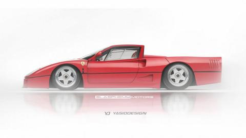 deportivos-transformados-pick-up-ferrari-f40