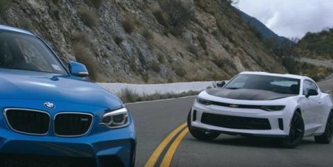 BMW M2 VS Chevrolet Camaro 1LE, comparativa interesante