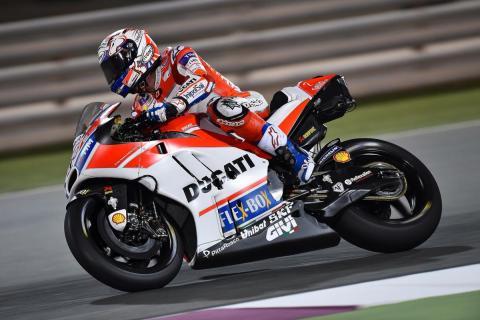 Test MotoGP Qatar 2017 (I): Dovizioso revienta el crono