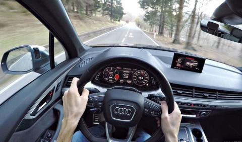 Vídeo: sube a bordo del poderoso Audi SQ7 TDI