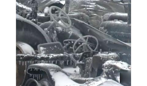 El fuego destruye una colección de coches millonaria