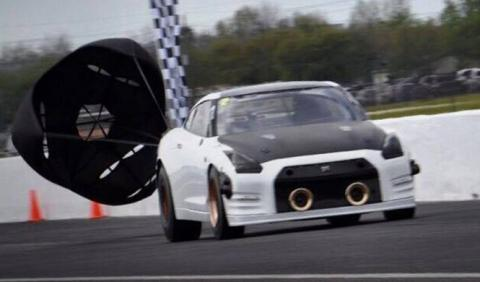 El brutal record de un Nissan GT-R