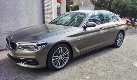 Prueba BMW Serie 5 2017: 530i