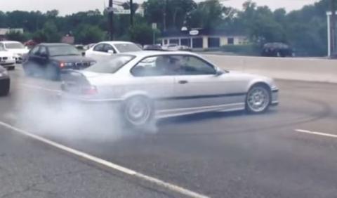 Vídeo: recopilación de temeridad a bordo de un BMW