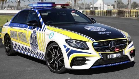 La Policía australiana recibe un Mercedes-AMG E43