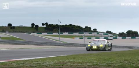 Vídeo: a tope con el Aston Martin Vantage GTE
