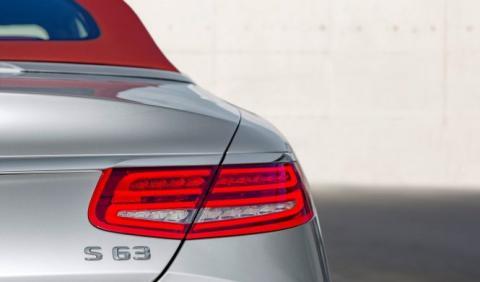 Mercedes-AMG S63 Cabrio 2018: cazado en Nürburgring