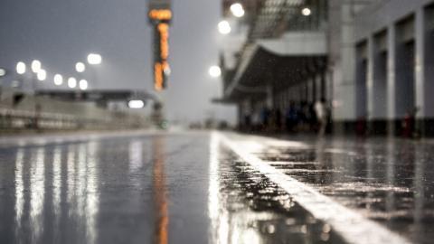 La lluvia se carga el sábado de MotoGP en Qatar