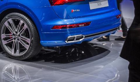 El Audi SQ5 2017 y sus 'falsas' salidas de escape