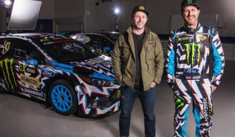 Así luce ahora el Ford Focus RS RX de Ken Block