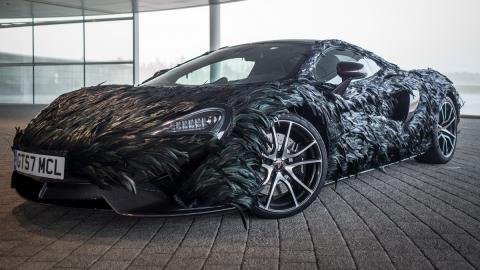 McLaren 570GT plumas