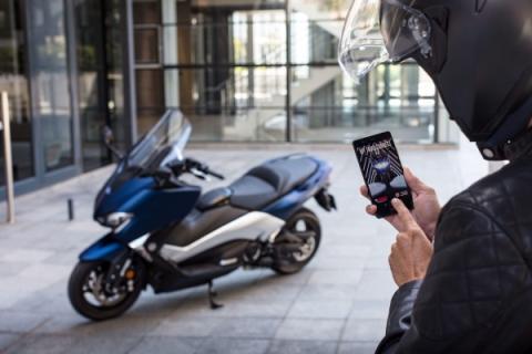 Yamaha y Vodafone crean el primer TMax conectado