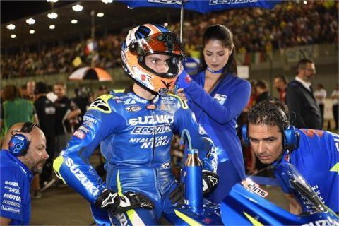 Álex Rins, declarado apto para correr el GP de Argentina