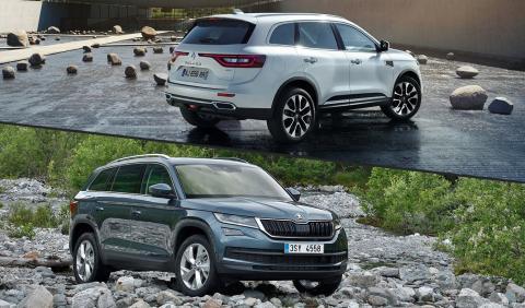 ¿Cuál es mejor, nuevo Renault Koleos o Skoda Kodiaq?