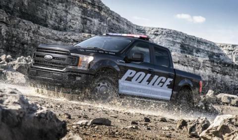 Ford F-150 SSV 2017: mejoras en el coche de Policía