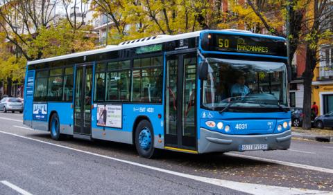 Compra un autobús de la EMT desde unos 5.000 euros