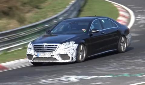 Mercedes-AMG S 63 2017: cazado en Nürburgring