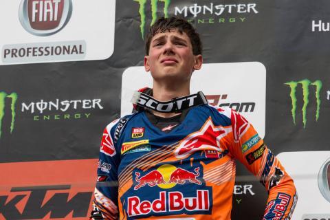Jorge Prado hace historia ganando en el Mundial de MX2