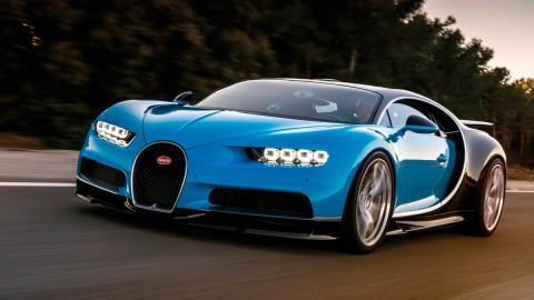 Los feos paragolpes del Bugatti Chiron para EEUU