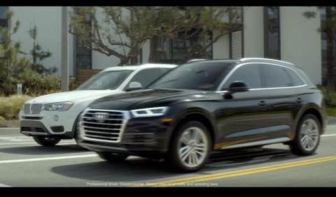 Vídeo: Audi compara el Q5 con el BMW X3 en un anuncio