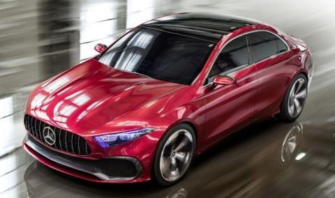 Cinco secretos del Mercedes Concept A Sedán