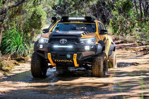 Toyota Hilux Tonka Concept. La firma de juguetes australiana Tonka lo desarrolló