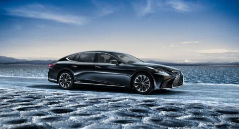 Lexus LS 500h 2017 1