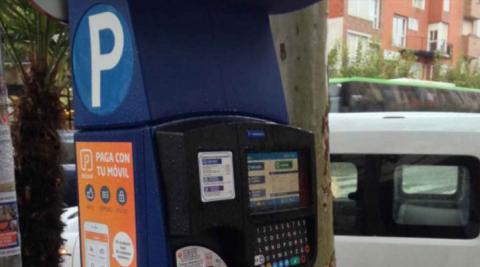 El nuevo sistema del cobro del aparcamiento en Madrid
