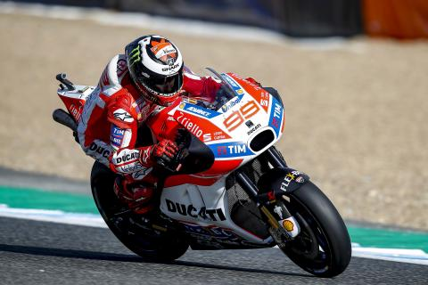 Jorge Lorenzo resurge en el peor circuito para Ducati