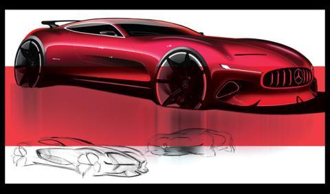 Así imaginan al sucesor del Mercedes AMG GT