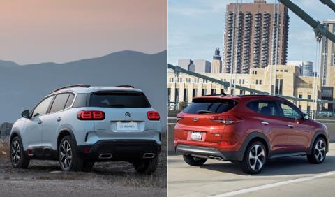 ¿Cuál es mejor, Citroën C5 Aircross o Hyundai Tucson?