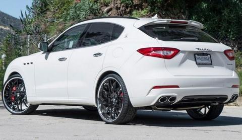 Alucina con las llantas Forgiato de este Maserati Levante