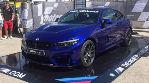 BMW M4 CS: el premio para el mejor de los sábados en MotoGP