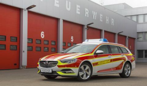Este Opel Insignia Sports Tourer tiene alma de bombero