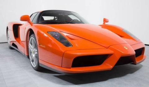 El único Ferrari Enzo naranja del mundo cuesta 3,7 millones
