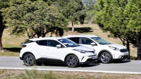 Comparativa Kia Niro contra Toyota C-HR