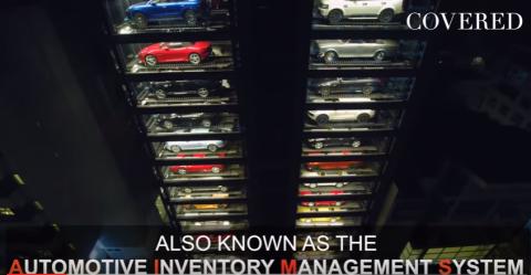 La mayor máquina de vender coches de lujo