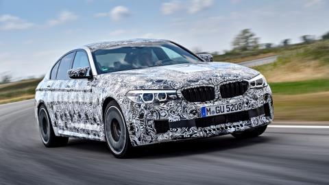 Primeras imágenes BMW M5 2017