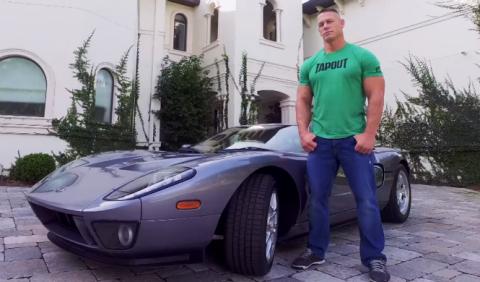 John Cena tiene un Ford GT de 2006 y pronto el de 2017