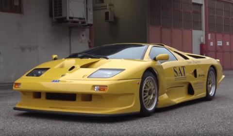 Vídeo: el Lamborghini Diablo GT1 Stradale que no conocías