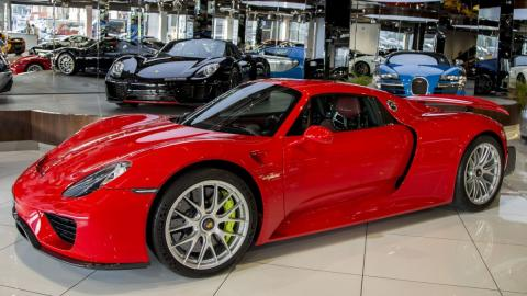 Venta Porsche 918 Spyder rojo