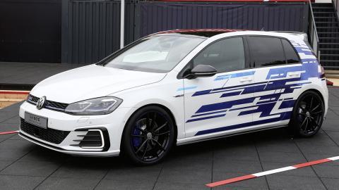 Volkswagen Golf GTE Performance Concept: las fotos