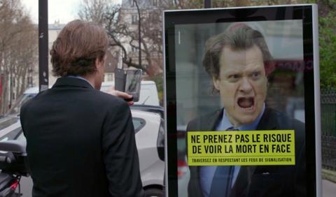 Vídeo: efectiva campaña contra los atropellos en París