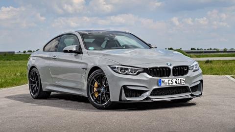 BMW M4 CS Lime Rock Grey Metallic