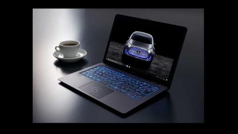 El portátil de Mercedes y Sony