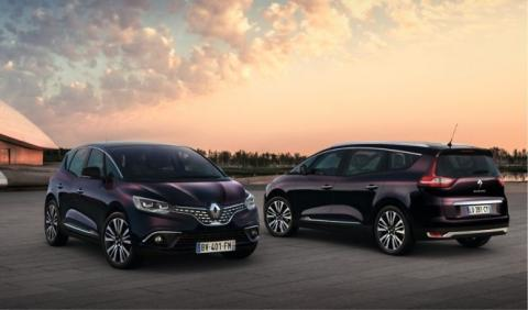 Renault Scénic y Grand Scénic Initiale París: ¡exclusivos!